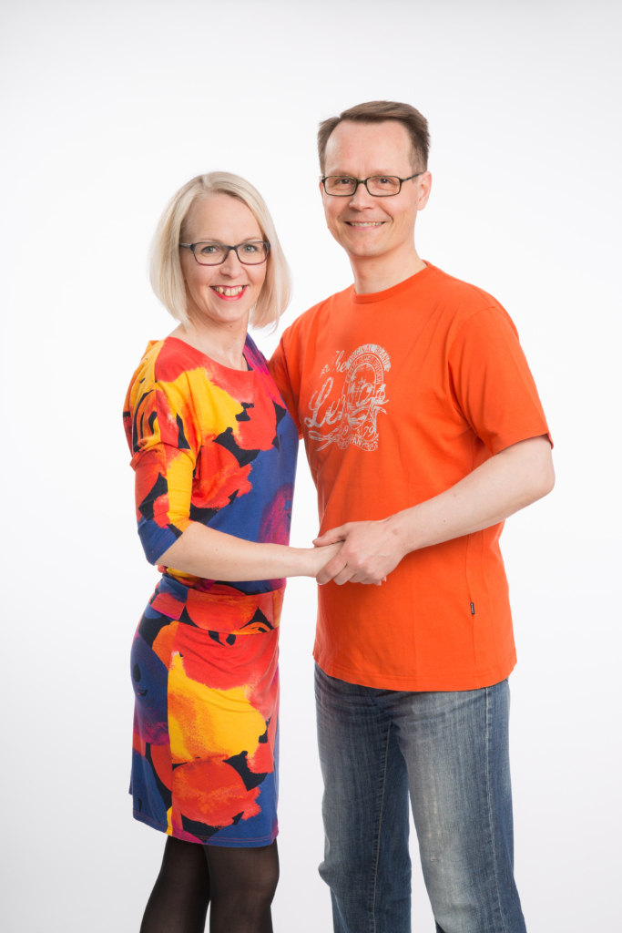Valmentajat Eija ja Timo